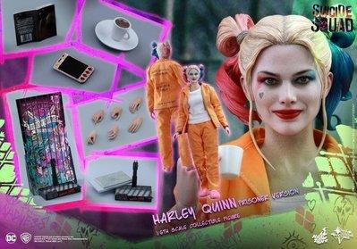 HOT TOYS MMS407 Suicide Squad小丑女Harley Quinn 囚服版 特價~9500含運