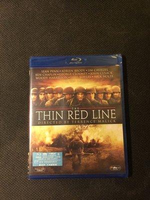 (全新未拆封)紅色警戒 The Thin Red Line 藍光BD(得利公司貨)限量特價