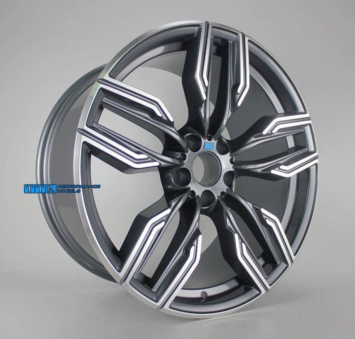 類New Style for BMW樣式 20吋5孔112 前後配 灰車面適用G11/G12/G30/G31 (限量款)