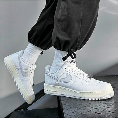 潮品汇 Nike Air Force      Premium Toll Free字母反光百搭潮流男女鞋