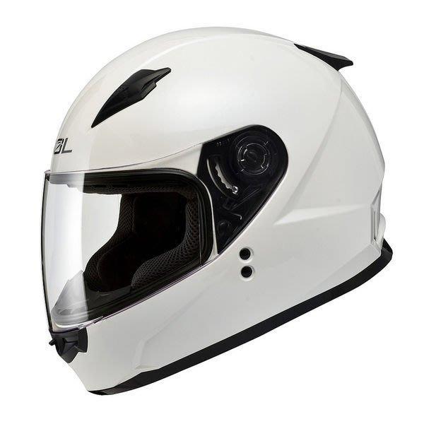 SOL安全帽,SF2M,素色/白