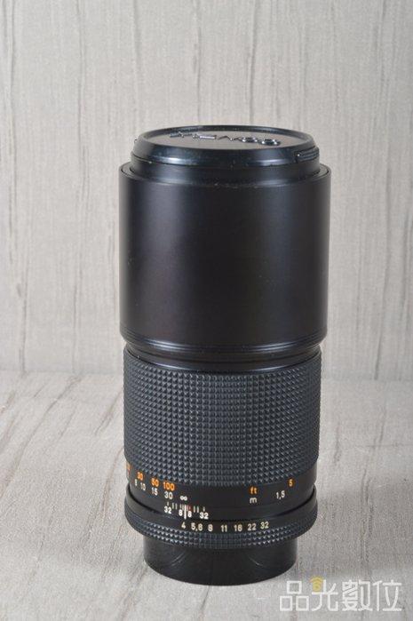 【品光攝影】Contax Carl Zeiss T* 200mm F4 AEG CY口 定焦 手動 #25588A