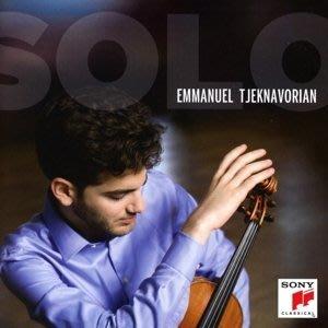 杰可納佛里安-無伴奏作品集  Emmanuel Tjeknavorian---88985498312
