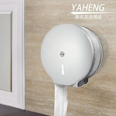 【優上】紙巾架 衛生間 帶鎖 防水 廁紙架 大盤紙盒(A級加厚不銹鋼鏡面)