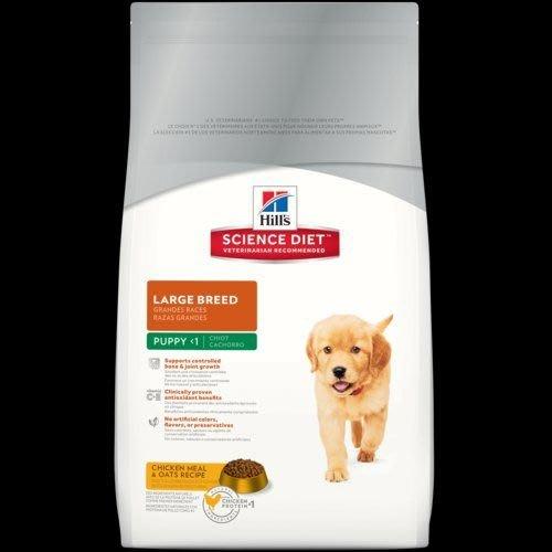希爾思 希爾斯 Hills 狗 大型犬 雞肉與燕麥 幼犬 1歲以下 犬用 15kg 生活型態 犬用乾糧 [6484HG] 信用卡專區