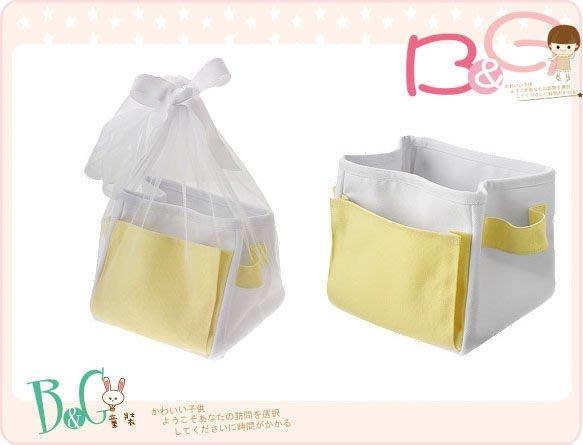 【B& G童裝】正品美國進口Gymboree Brand New Baby Gift Tote 黃色網紗彌月禮盒