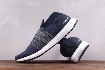 Adidas Ultra Boost Uncaged Laceless 慢跑鞋 BB6135