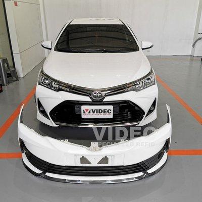 威德汽車 豐田 TOYOTA 17 ALTIS 11.5代 一般版 改 X版 前保桿 空力套件 大包 另有 定風翼