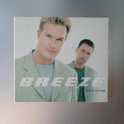 【裊裊影音】Breeze微風合唱團Just A Feeling宣傳單曲CD-EMI 1998年發行