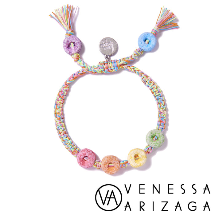 Venessa Arizaga RAINBOW LOOPS BRACELET 彩色手鍊