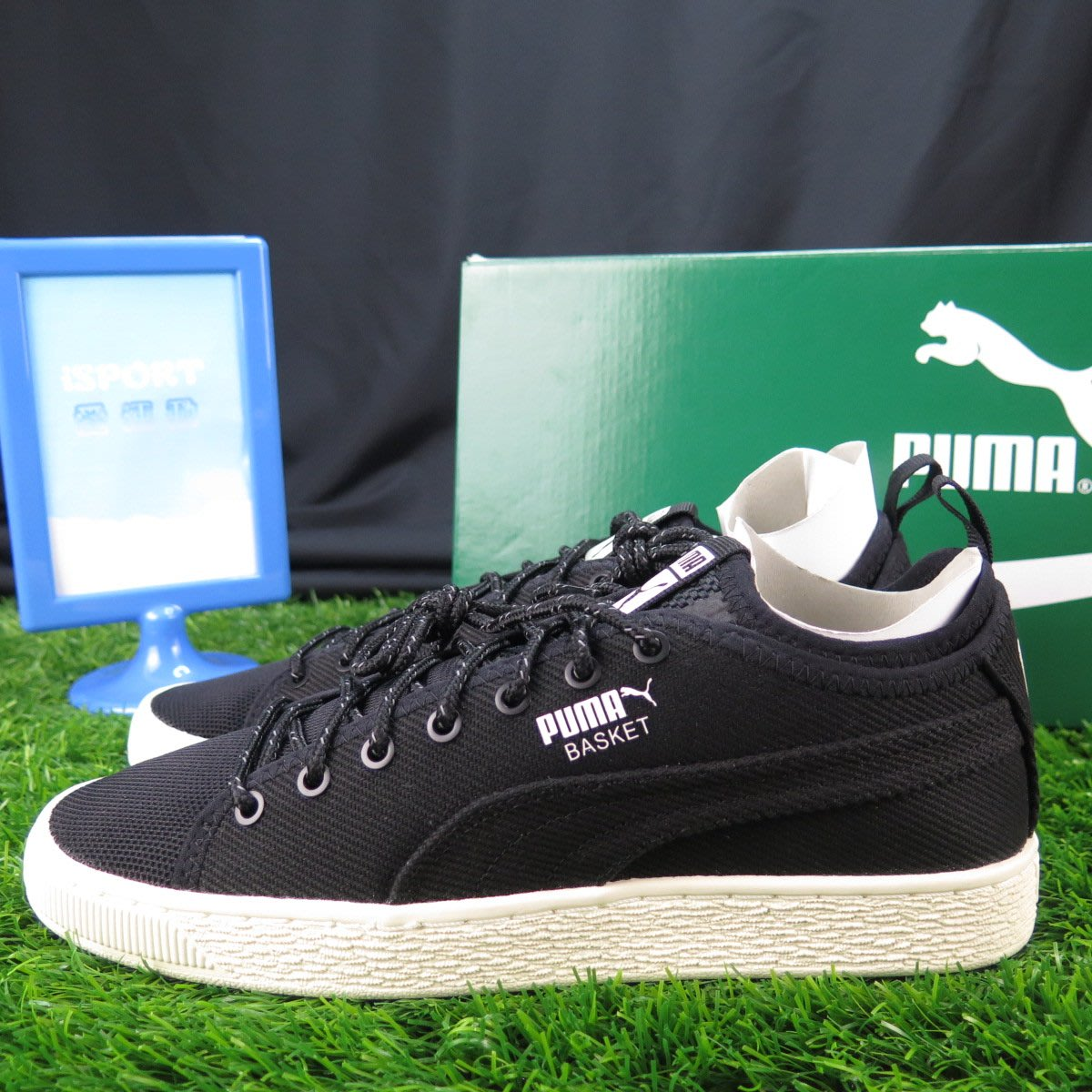 official photos 6ab8a b8611 iSport愛運動】PUMA BASKET CLASSIC SOCK LO V2 休閒鞋正品 ...