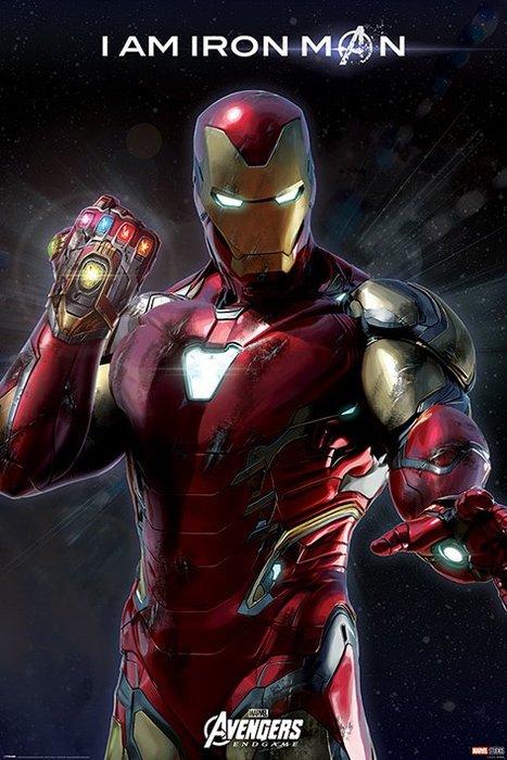 英國進口海報  PP34542(復仇者聯盟:終局之戰 鋼鐵人(Iron Man)