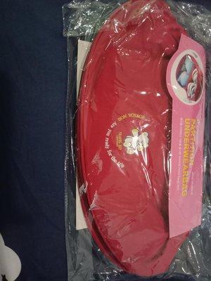 韓國Partition Underwear 孩子氣 內衣收納包/媽媽包 紅色 全新(目前現貨:1個,售價:380元)