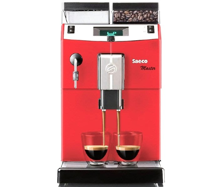 PHILIPS飛利浦Saeco全自動義式咖啡機Saeco Lirika RI9840/24紅~義大利喜客全自動咖啡機