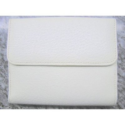 95%新【Gucci】米白色 真皮 錢包 銀包Leather Wallet Purse高貴唔誇張,有散紙位(原$4380)真貨,意大利