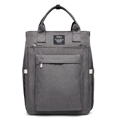 Heine 海恩 WIN-0209 後背包 大容量 多夾層收納款 灰色