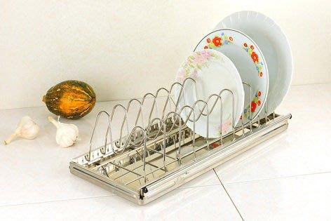 ☆成志金屬☆ S-71f -9不鏽鋼盤架 鍋蓋架,可拆可調式可放於櫥櫃內各種盤子均可收納
