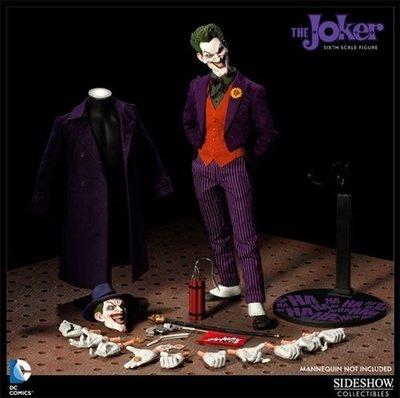 Sideshow BATMAN 蝙蝠俠 joker 小丑