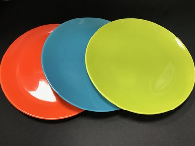 【無敵餐具】彩瓷全色圓盤/分享盤-5色...
