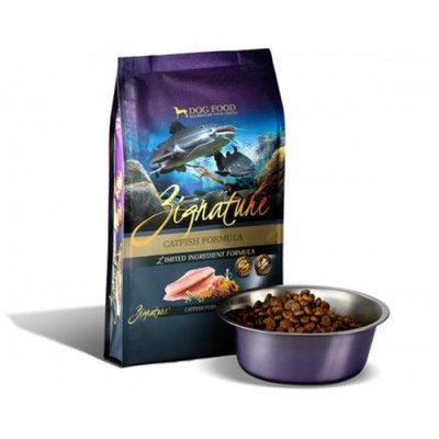 Zignature 無穀物(鯰魚)全犬種配方 (Catfish Formula) 13.5磅 - 狗餅物語