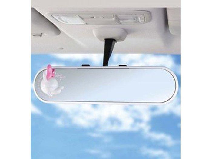 《達克冷光》米妮防眩平面鉻鏡300mm/白 WN36