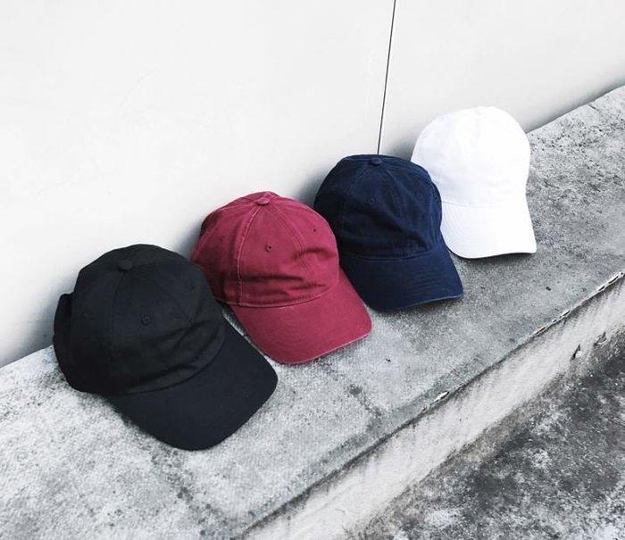 【NoComment】日系原宿 街頭復古 水洗做舊鴨舌帽 6色 Visvim Stussy