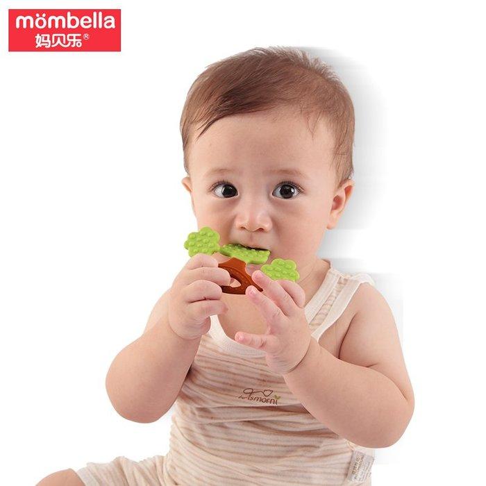 禧禧雜貨店媽貝樂蘋果樹牙膠磨牙棒嬰兒寶寶牙咬膠無毒硅膠軟可水煮#嬰兒磨牙棒 規格不同價格僅參考,下單聯系客服