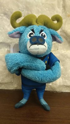 現貨~日本迪士尼 動物方城市  蠻牛警察吊飾🌸朵朵醬代購🌸