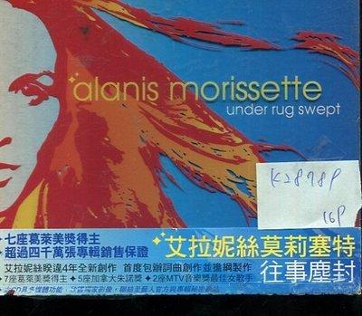 *真音樂* ALANIS MORISSETTE / UNDER RUG SWEPT 二手 K28789