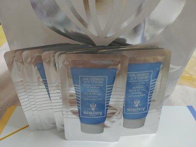 「sisley」瞬間保濕緊膚面膜 4ml(效期2020/7/22)有10包,百貨公司贈品,可併運