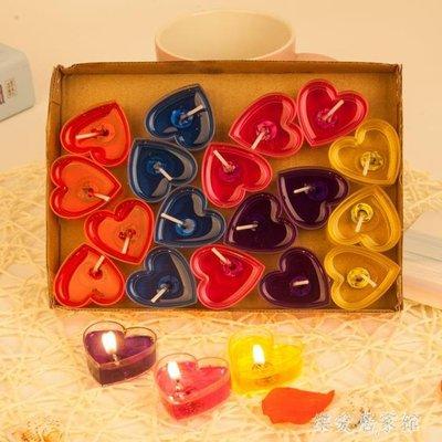 心形果凍蠟燭愛心求婚無煙浪漫表白神器布置裝飾    SQ9011TW