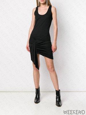 【WEEKEND】 EACH X OTHER 打結效果 無袖 背心裙 短洋 短裙 黑色