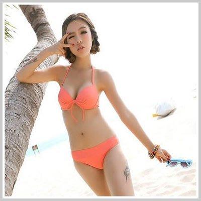 韓國馬卡龍冰沙色比基尼+連帽拉鍊裙罩衫【O853】☆雙兒網☆