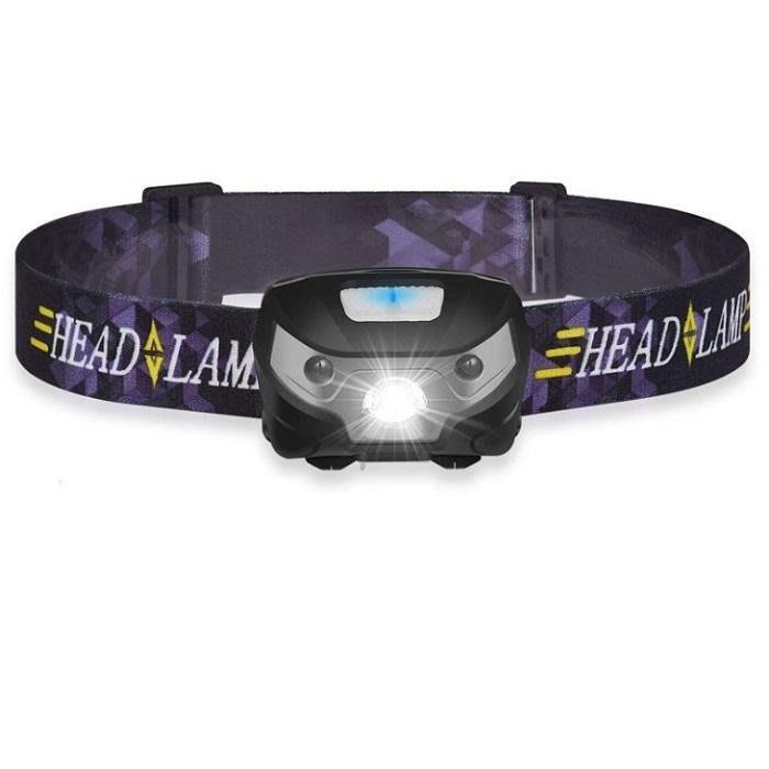 夜晚外出好物感應頭燈 充電USB帶磁鐵工作燈LED+COB 戶外應急露營釣魚【BB】