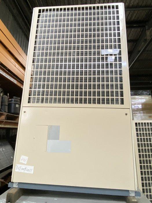 (大台北)中古日立7.5RT氣冷冰水機3φ380V(編號:HI1091011)~冷氣空調拆除回收買賣出租~