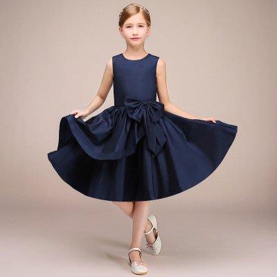 【衣Qbaby】Sn女童高檔晚禮服主持人音樂演奏生日派對短禮服