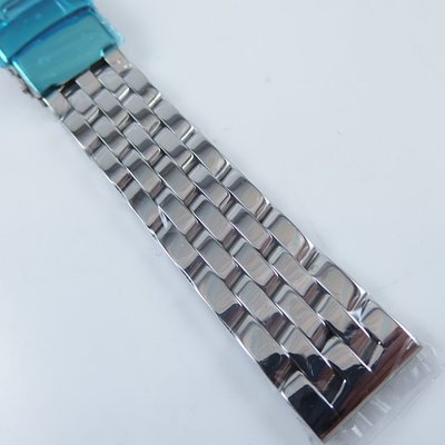 【錶帶家】類似百年靈 BREITLING 款式代用交錯五珠款鋼帶有18mm及20mm 厚重質感4mm 適用ORIS等錶款