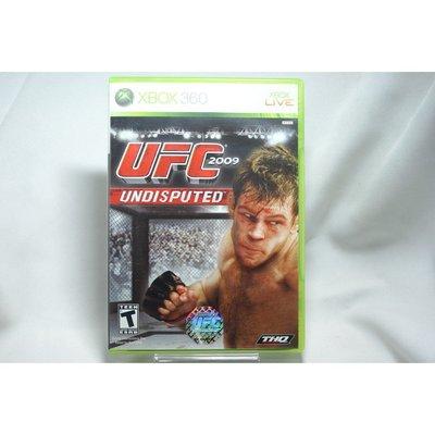 [耀西]二手 美版 XBOX 360 UFC 2009 終極格鬥王者 UFC 2009 UNDISPUTED 含稅附發票