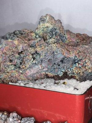 七彩珊瑚料造型力泥大擺件