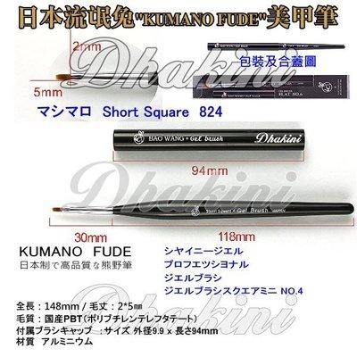 《824日本流氓兔彩繪格紋筆》~熊野系列單支刊登款;高品質、低價格,輕鬆完成美甲藝術創作