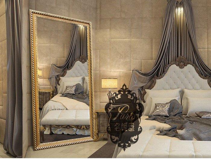 超質感 美式復古 古典農村間歐式鏡 穿衣鏡 全身鏡 化妝鏡 浴室鏡 玄關鏡 裝飾鏡