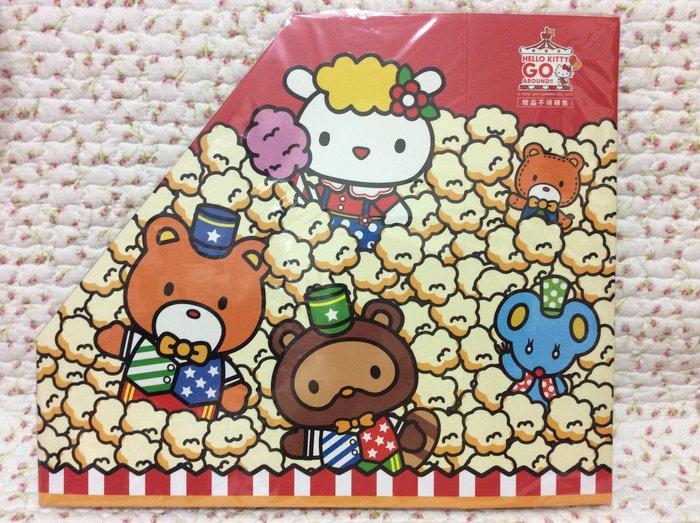 Sanrio hello kitty 爆米花款—文件收納盒/整理盒《2017年商品》特價出清