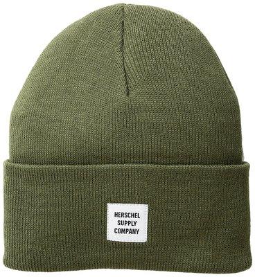 Herschel Supply Co. 全新 現貨 毛帽 針織帽 耐用 輕柔 保暖 軍綠色 保證正品
