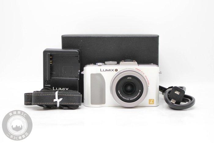 【高雄青蘋果3C】Panasonic Lumix DMC-LX5 白 數位相機 二手相機 #54109