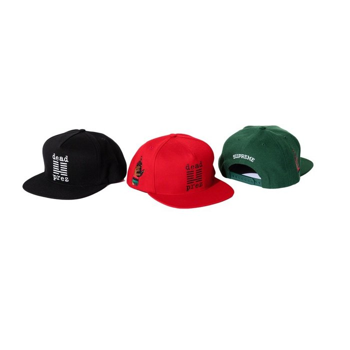 【紐約范特西】預購Supreme FW19 dead prez 5-Panel 中指 棒球帽