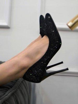 ZIHOPE 高跟鞋女細跟新款尖頭黑色職業網紅百搭法式少女輕熟單鞋ZI812