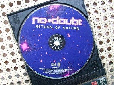 CD~NO Doubt--Return The Saturn專輯(裸片)...收錄Return The Saturn等.