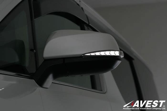 【吉燿部屋】AVEST進口 TOYOTA ALPHARD30 序列式 跑馬燈 流水燈 後視鏡 後照鏡 方向燈