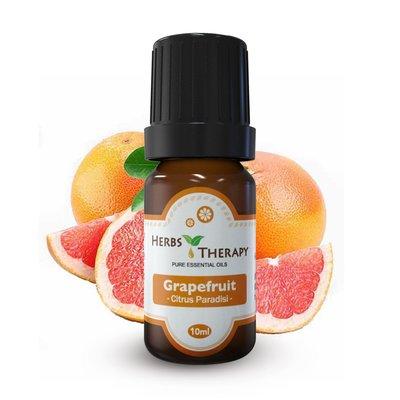 『植物療法』HERBS THERAPY  粉紅葡萄柚精油 10ml x 3=30ml
