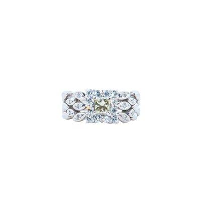 【JHT金宏總珠寶/GIA鑽石專賣】0.307ct天然鑽石鍊戒/材質:PT900(JB51-A02)
